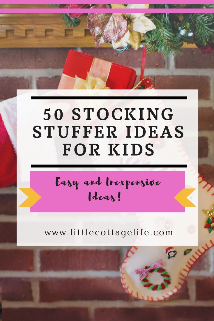 Looking for great stocking stuffer ideas for kids? Look no further! These stocking stuffer ideas are genius!