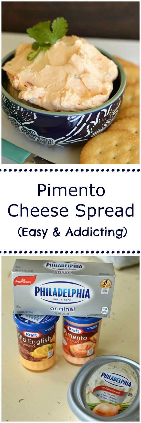 Pimento Cheese Spread is crazy good, super addicting, and a quick and easy appetizer! It's a serious winner for the Super Bowl, Christmas Eve, and New Years! Little Dairy on the Prairie
