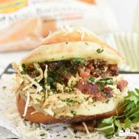 Italian Chicken Bacon Sandwich