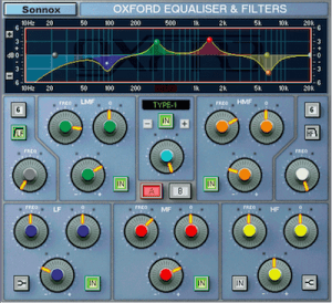 Sonnox Oxford EQ Plugin