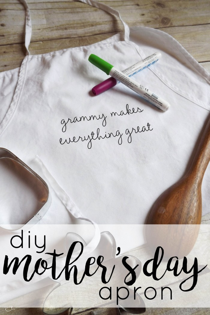 Mother's day, gift, apron, diy