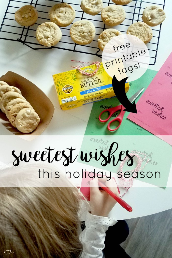 Real California Milk, sweetest wishes this holiday season, free printable