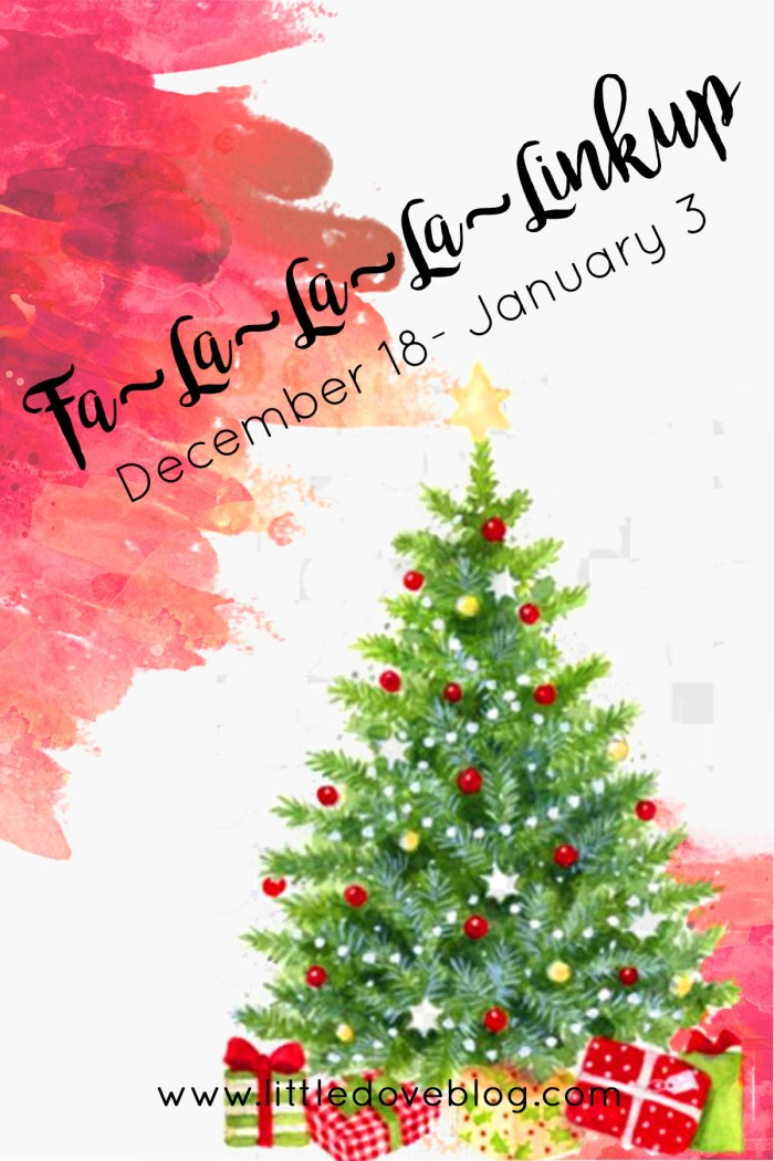 Christmas holiday linkup