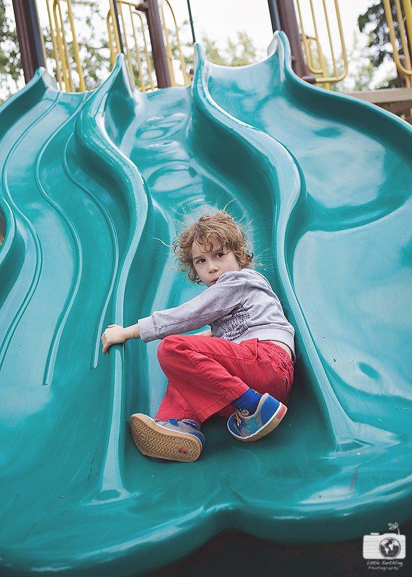 boy-on-slide