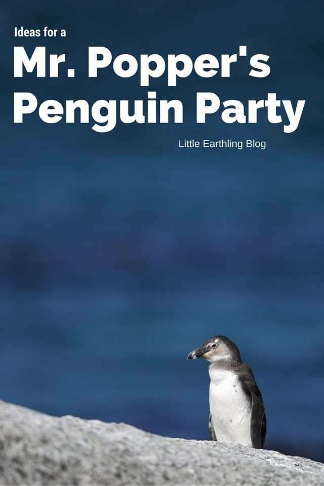 How to host a Mr. Popper's Penguin Party