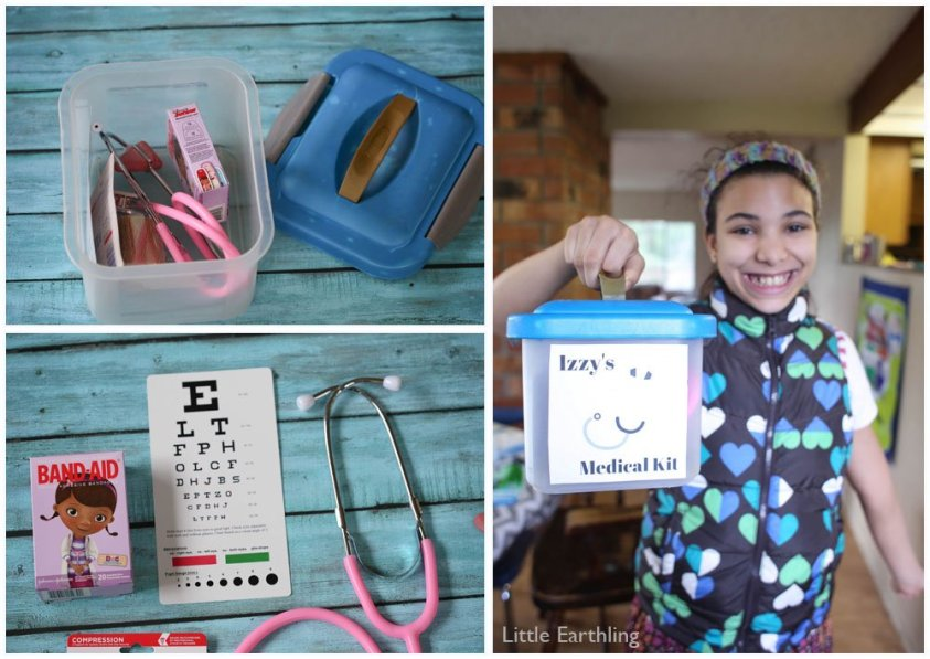Create a fun DIY doctor's kit that any child is sure to enjoy!