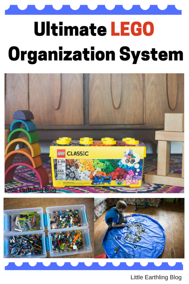 Ultimate LEGO organization system for families.