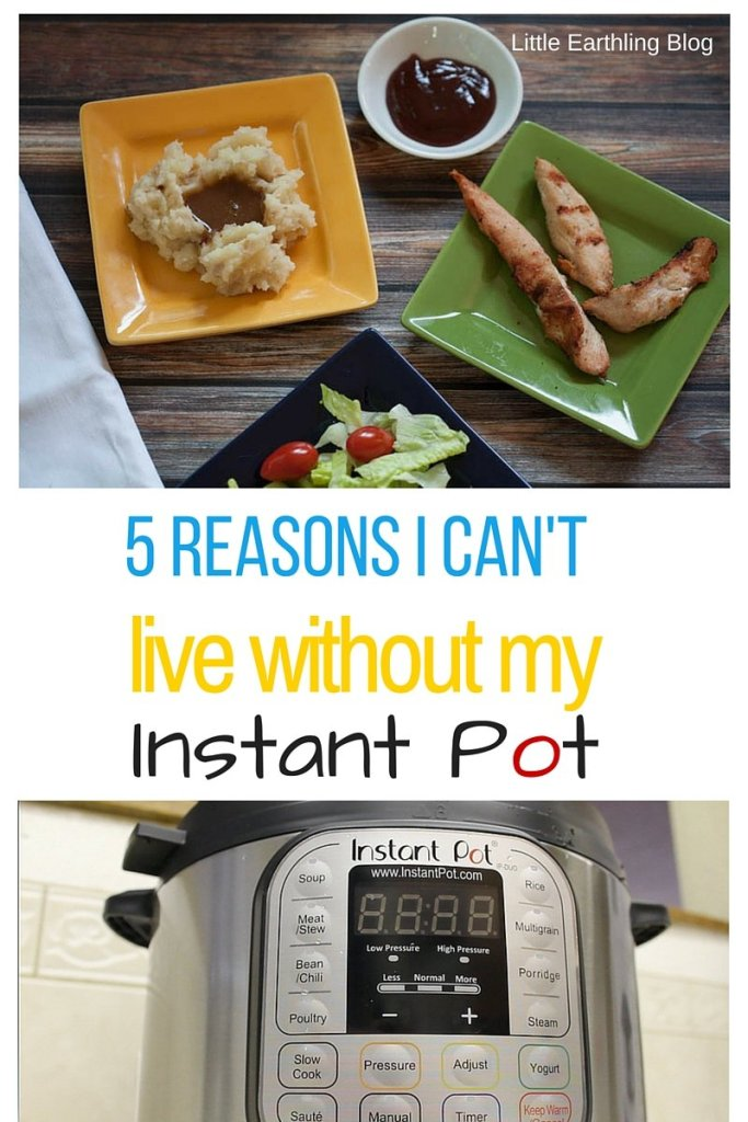 5 Reasons I can't live without my Instant Pot. It is perfect for the large family.