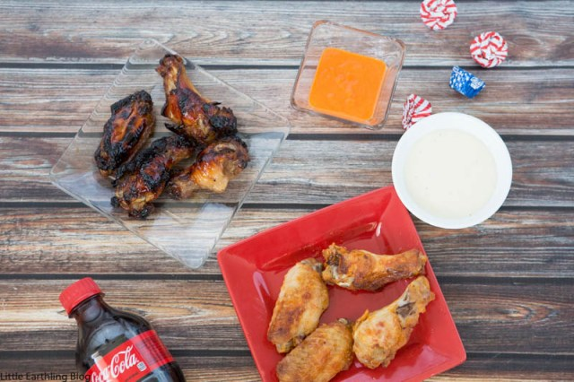 Chicken wings are the perfect food for watching the football game together as a family!
