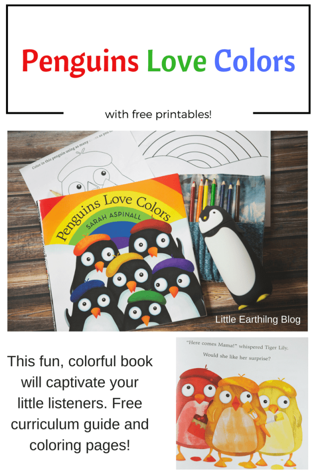 Penguins Love Colors is a delightfully colorful book that shows a mama's love for her babies. Free printables included!