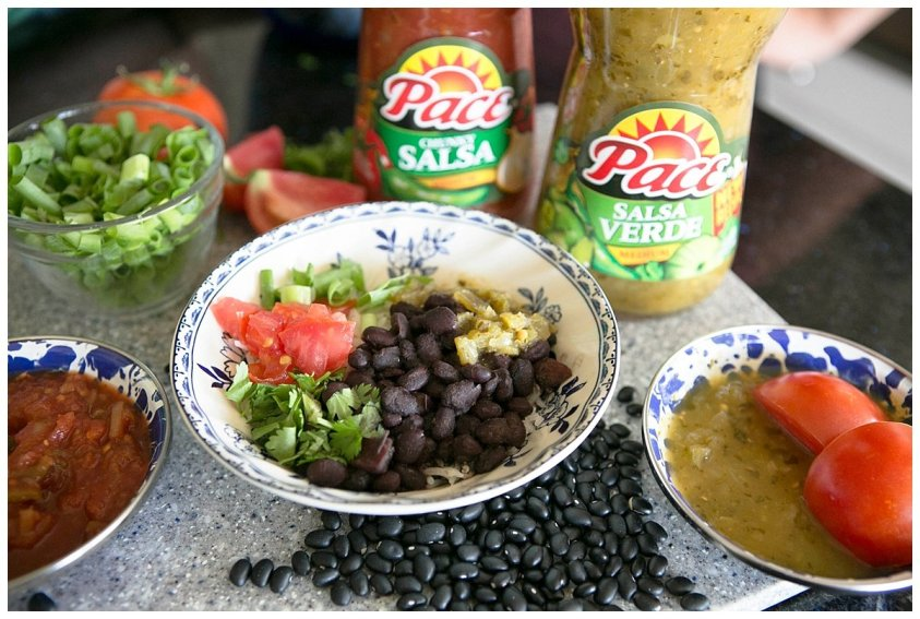 This amazing spicy black bean dish is made quickly in the Instant Pot!