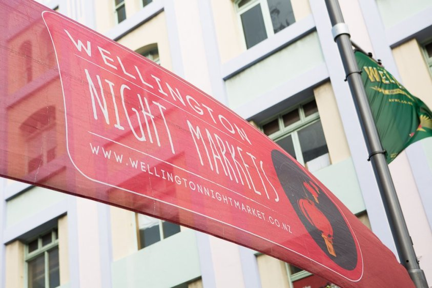 Our visit to the Wellington Night Market tottery out the amazing food vendors!