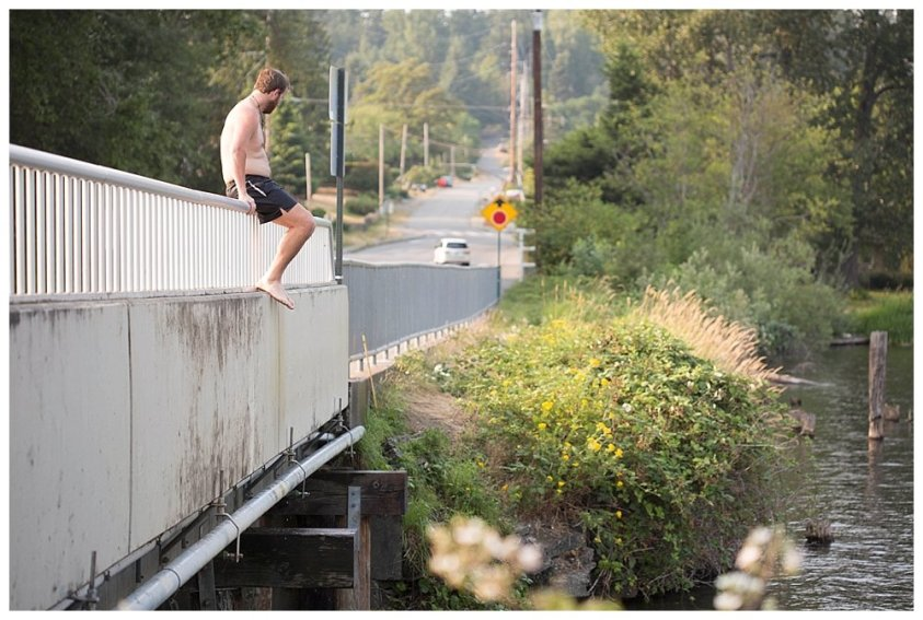 David bridge jumping.