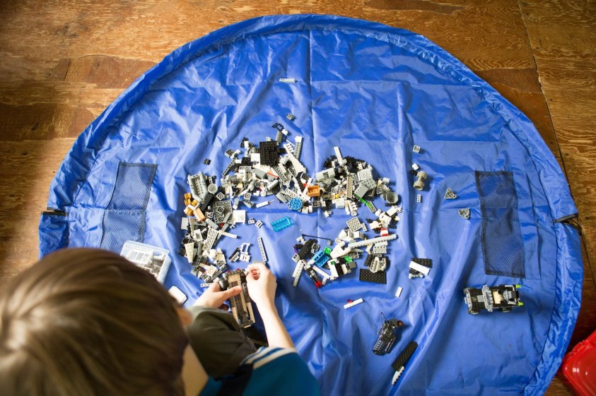 LEGO storage mats are perfect for keeping LEGO chaos at bay.