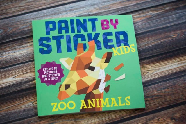 Paint by sticker review. Large family reviews.