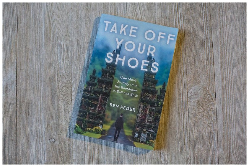 Take off Your Shoes is a fun memoir abut travel, family, and slowing down.