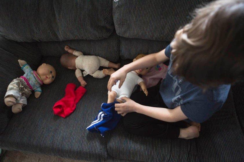 Wonder Crew Superhero Doll is great for encouraging imagination.