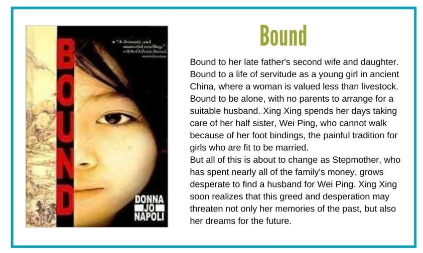 Bound is a great coming of age book with a female protaganist.