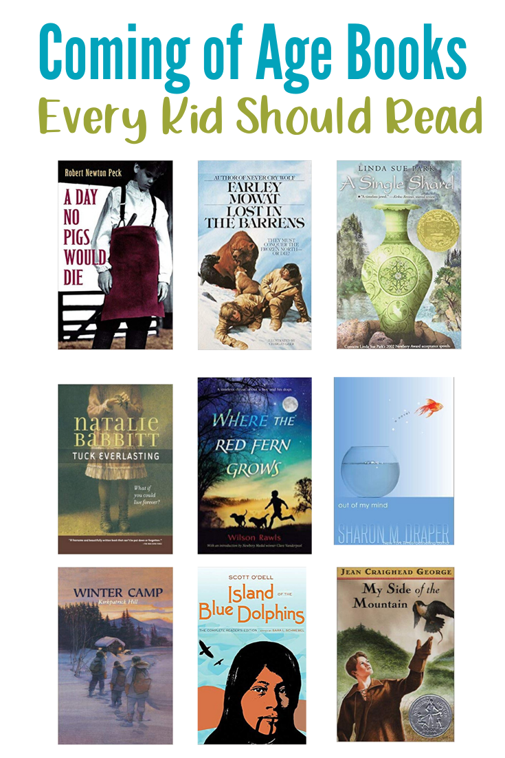 You do not want to miss this amazing list of coming of age books. Make sure these are in your home library!