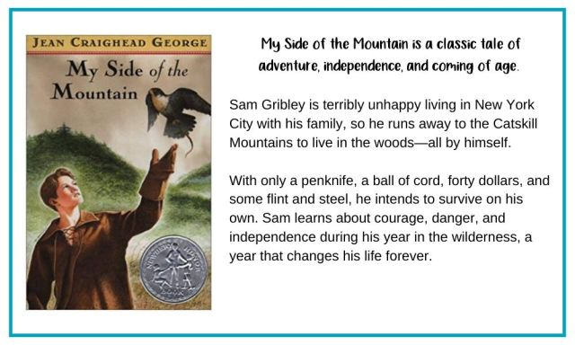 My Side of the Mountain is a classic coming of age book.