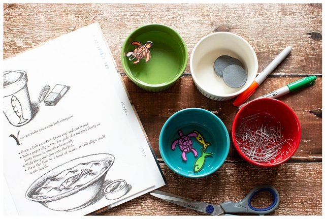 The Warlord's Fish will allow your child to build a simple compass. Free Printable.