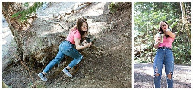 Jubilee falling at Whatcom Falls Park.