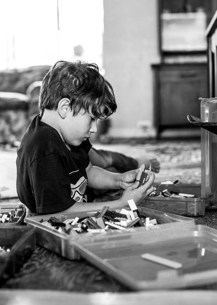 LEGO is an excellent way for kids to learn problem solving skills.