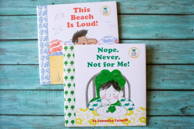 Great books for kids with sensory issues.