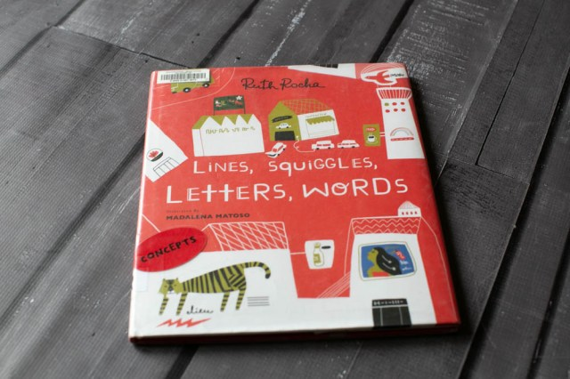 Lines, Squiggles, Letters, and Words Review.