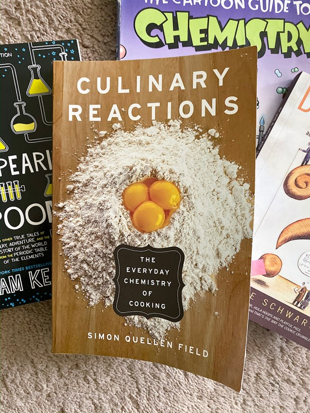 Culinary Reactions review for homeschooling chemistry.