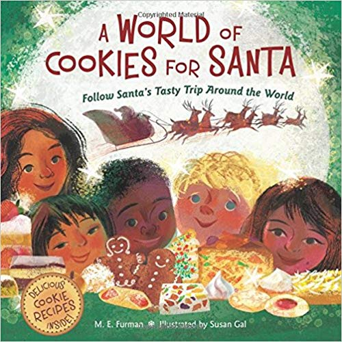 A World of Cookies for Santa tells the story of Christmas throughout the world and includes fun recipes.