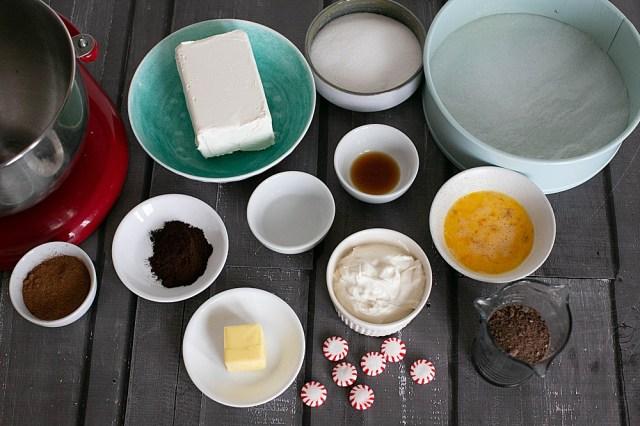 Easy Peppermint Mocha Cheesecake Recipe