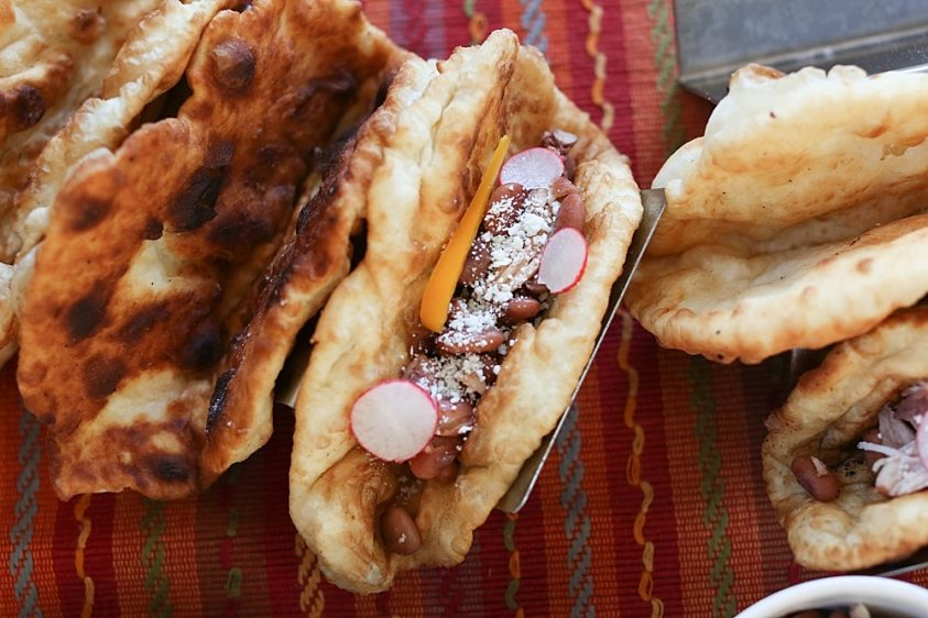 Fry Bread is perfect for filling with chalupa!