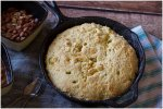 This Jalapeno Cornbread recipe is filled with cheese and just a touch of heat.