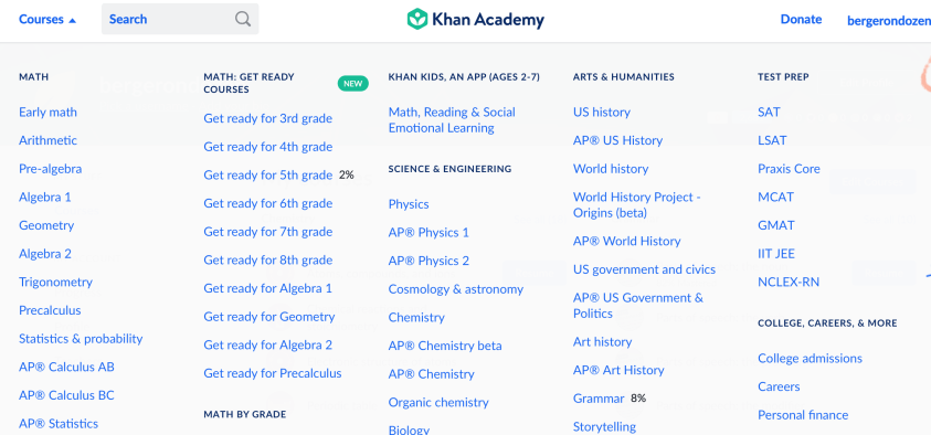 Khan Academy is a great, free, online school option.