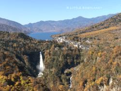 日光中禪寺湖_Lake Chuzenji in Nikko 展望中禅寺湖、日本三大名瀑之一:華厳の滝