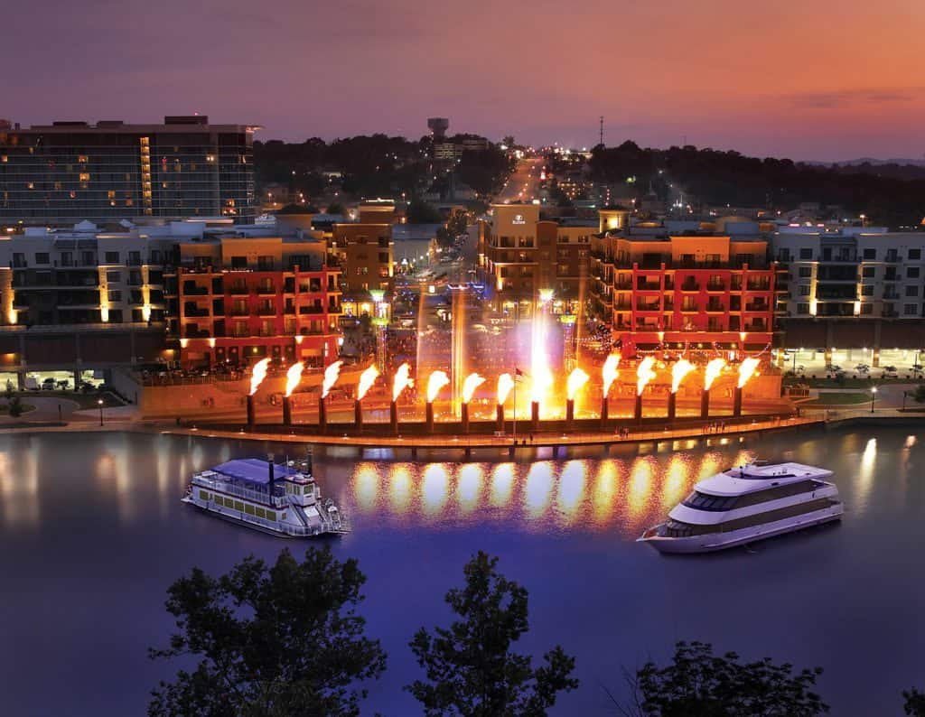 The Branson Landing in Missouri