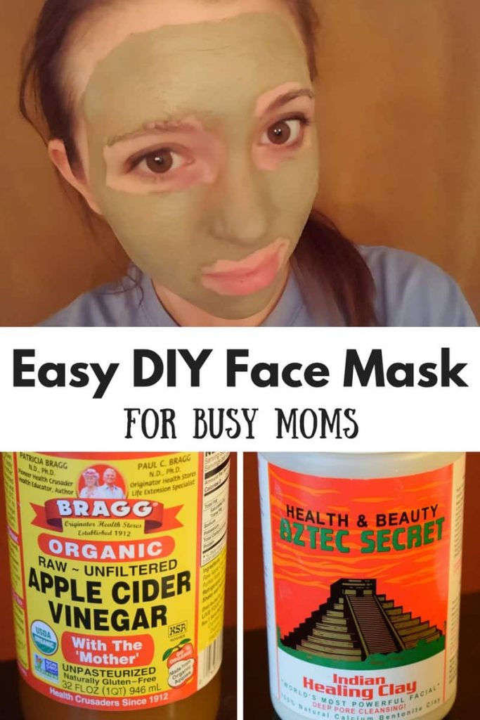 easy DIY face mask for busy moms