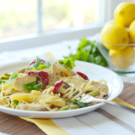 Chicken Linguine with Lemon Sauce