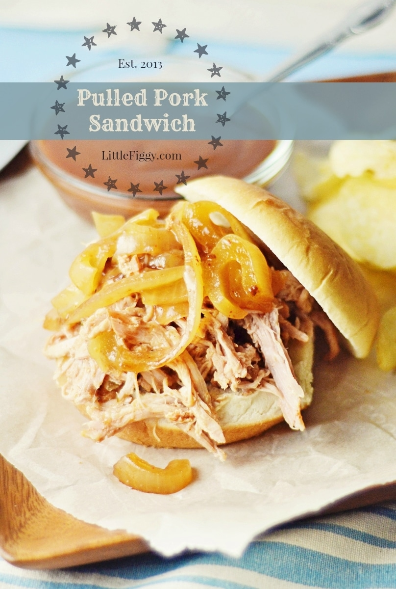 Pulled-Pork-Sandwich-@LittleFiggyFood-#PulledPorkBBQ