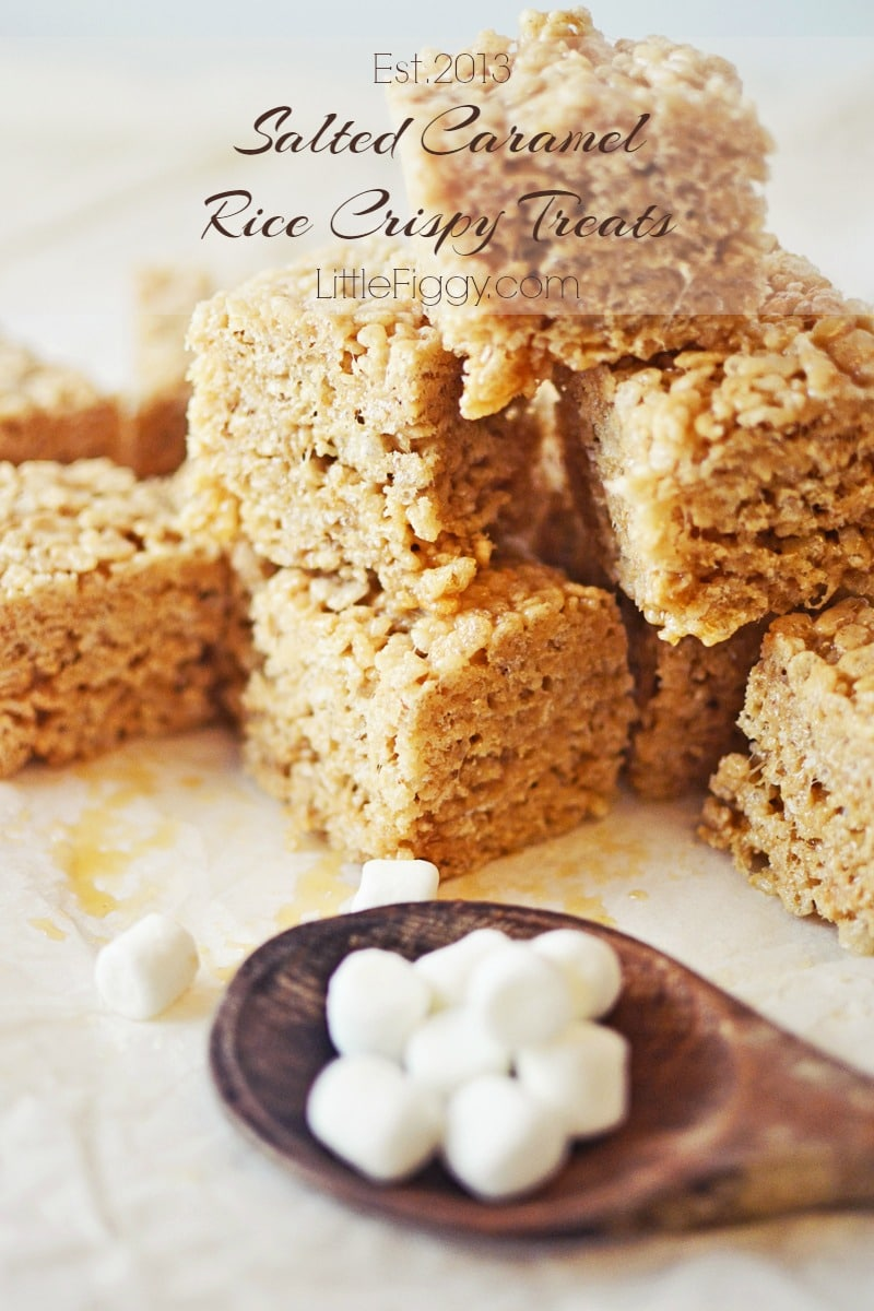 Rice Crispy Treats - @LittleFiggyFood - #RiceCrispyTreats