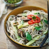 Soba Noodles + Dipping Sauce