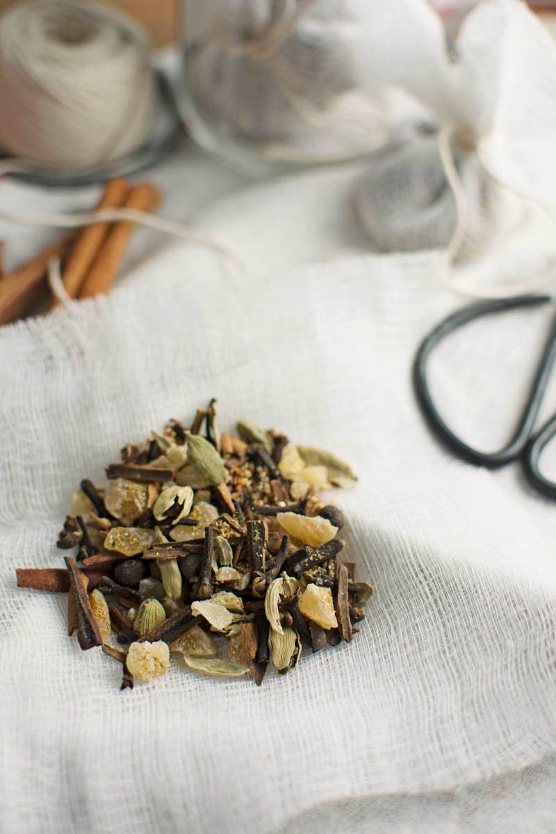 Mulling Spices, warm up a bottle of red wine or apple cider and add these spices to create cozy drinks!
