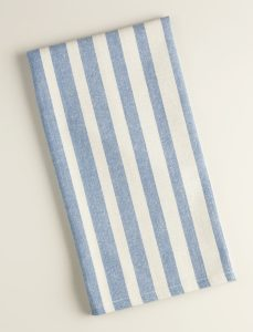 Blue Ombre Stripe Kitchen Towel