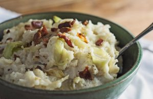 Try this take on the traditional Irish comfort food, Colcannon! Recipe @LittleFiggyFood