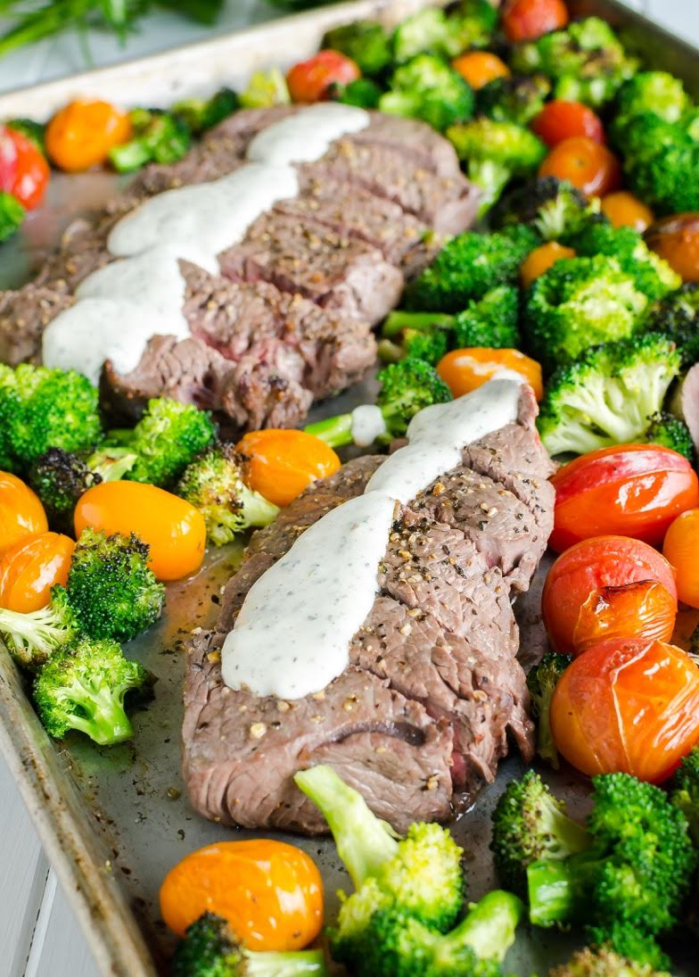 Try this mouthwatering Sheet Pan Steak with Veggies recipe from Chellie Schmitz - @ArtFromMyTable! Recently interviewed on The Fare Traveler Podcast, Chellie talks about this tasty recipe,gives us some of her tips and how she was motivated to start her food blog.