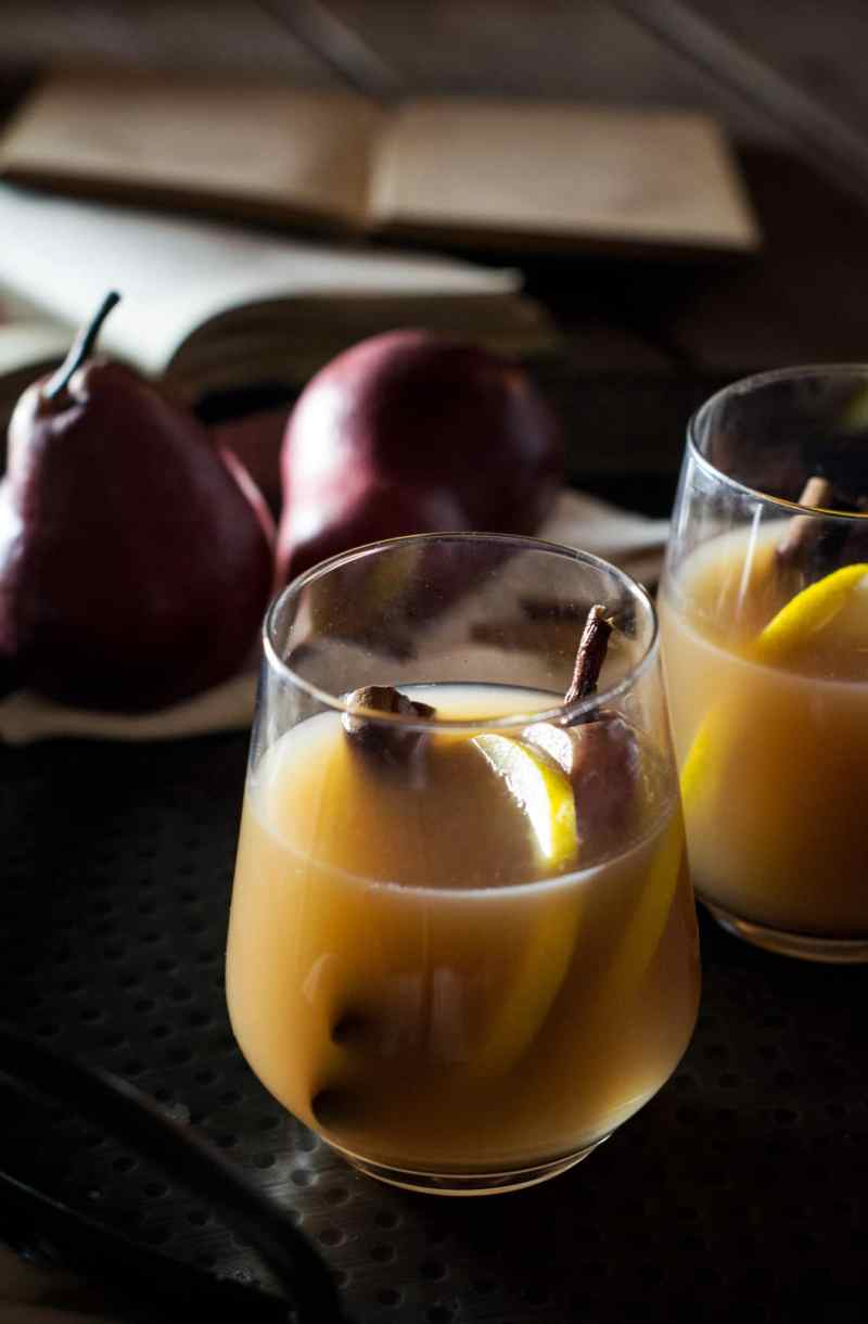 Try this Hard Mulled Pear Cider
