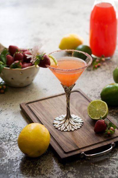 Strawberry Daiquiri - Sous Vide Cocktails