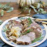 Roast Pork Loin with Garlic and Rosemary Recipe