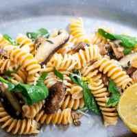 Easy Mushroom Sauce with Pasta